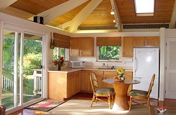 Интерьеры дачной кухни фото