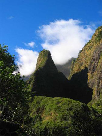 Iao Valley State park. A Maui cottage rental